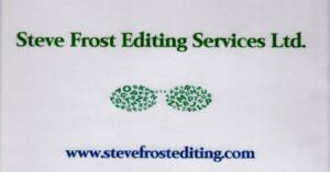 Steve Frost Editing