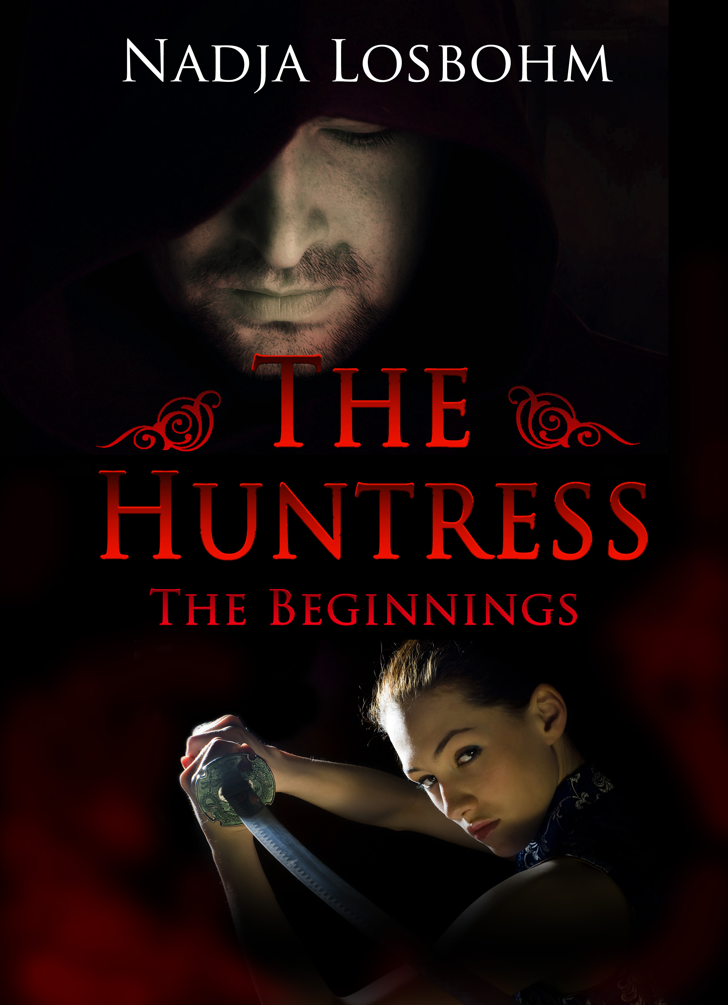 The Huntress finales Cover