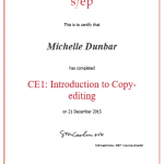 Introduction to copy-editing